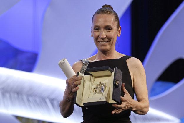 Emmanuelle Bercot je režisérkou aj herečkou, predvlani získala cenu pre najlepšiu herečku na festivale v Cannes za film Môj kráľ.