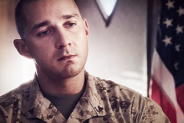 Shia LaBeouf vo filme Man Down.