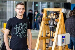 Róbert Slíž zo Strednej odbornej školy elektrotechnickej v Košiciach.