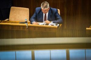 Opozícia chce znova odvolať ministra práce Jána Richtera.