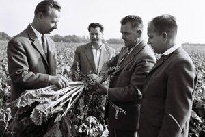 Takto si pozeral polia v roku 1963 Alexander Dubček.