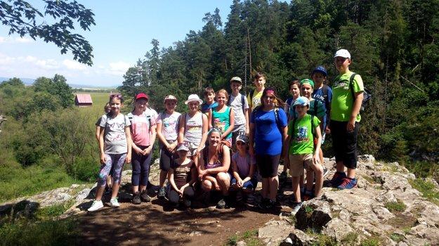 Školský výlet v Slovenskom raji