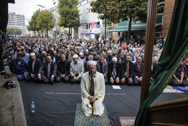 Moslimovia v Nemecku.