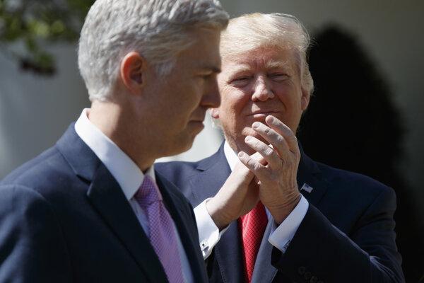 Trump označil Gorsucha za človeka hlboko oddaného Ústave Spojených štátov.