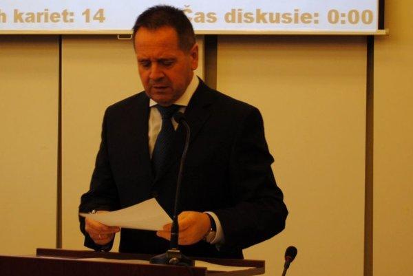 Exprimátor Popradu Anton Danko.