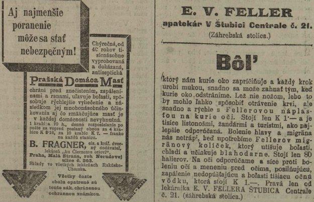 Slovenské noviny zo 14. 3. 1914