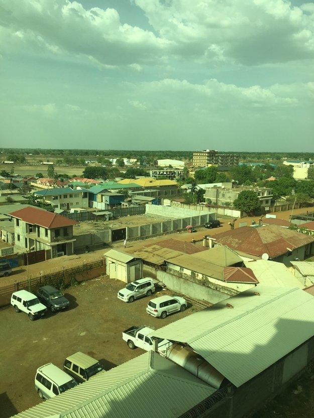 JUBA - Južný Sudán.