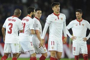 Hráči Sevilly s Valenciou iba remizovali.