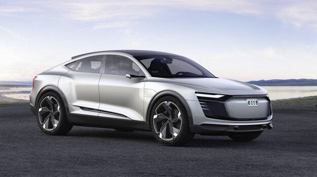 Audi E-tron Concept.