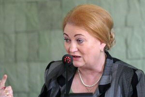 Záborská chce priamo zasahovať do politiky skupiny EPP.