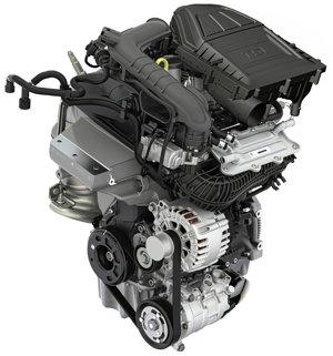 Motor 1,0 TSI.