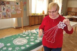 Zuzana Kusendová sa háčkovaniu venuje tri roky.