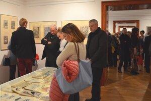 Výstava Jozefa Vrtiaka v Turčianskej galérii.