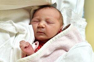 Tamara Krišková (3360g, 50cm) sa narodila 23.apríla Tatiane a Mariánovi z Lúky.  Doma už čakajú súrodenci Ivanko (4r.) a Viktorka (2r.).