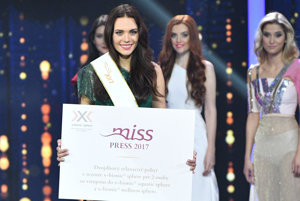 Bardejovčanka Petra s titulom MISS PRESS.