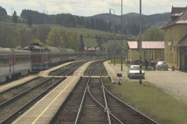 Stanica v Hornej Štubni.