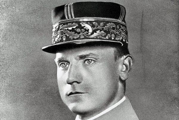 Na nedatovanej snímke Dr. Milan Rastislav Štefánik v uniforme.