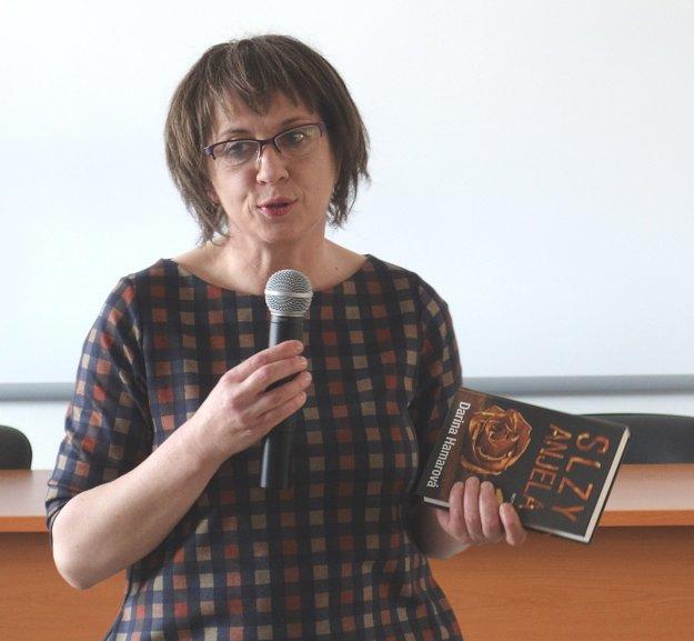 Darina Hamarová, autorka víťaznej knihy v kategórii beletria.