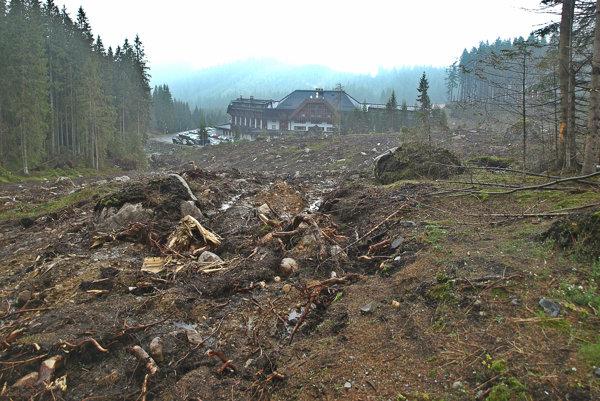 Les oproti hotelu Grand vDemänovskej doline ustúpil novému rezortu. Investor tam postaví desaťposchodový hotel.
