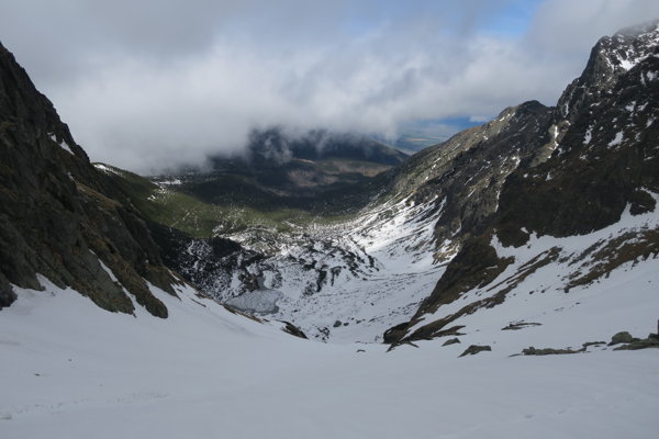 Veľká zmrzlá dolina.