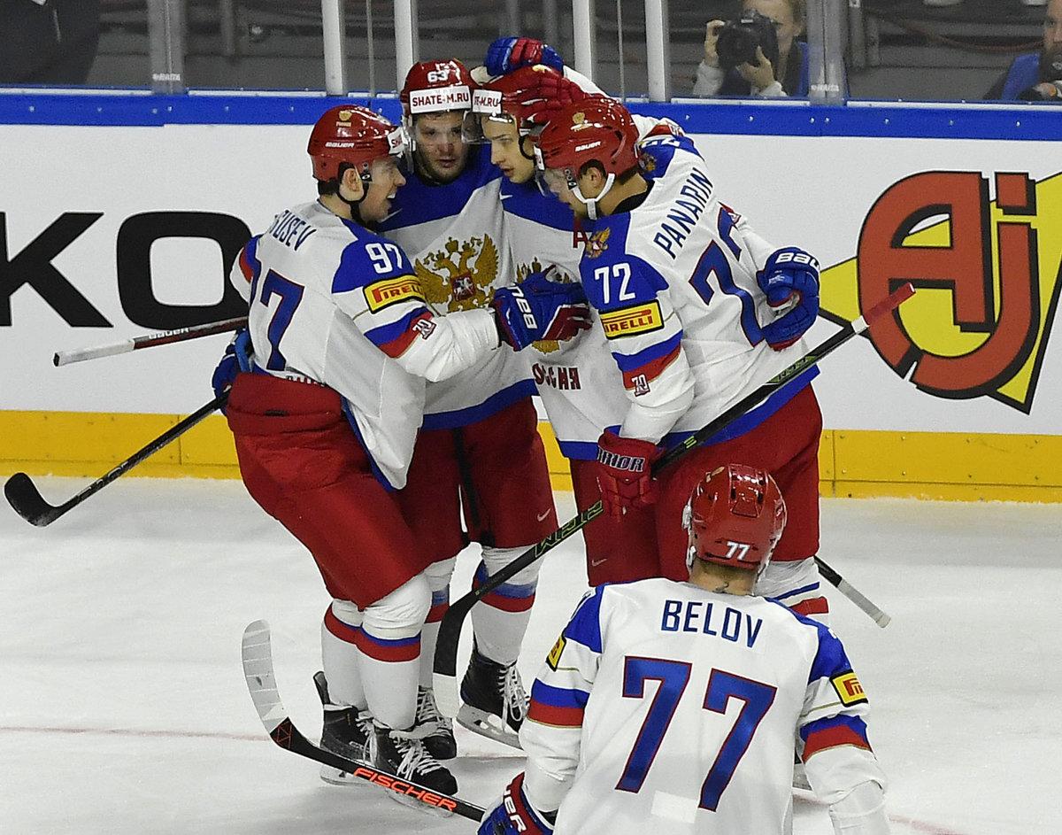 dda5160230132 Hokejisti Ruska na majstrovstvách sveta v hokeji 2017 stále neprehrali.