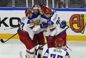 Hokejisti Ruska na majstrovstvách sveta v hokeji 2017 stále neprehrali.