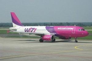 Lietadlo spoločnosti Wizz Air.
