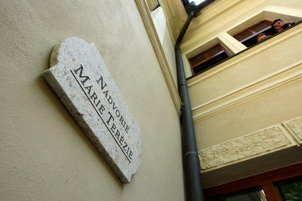 Nádvorie Štátnej vedeckej knižnice je od dnešného dňa pomenované po Márii Terézii.