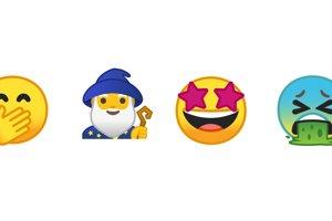 Android podporuje emotikony z verzie Emoji 5.0. Okrem fantasy postáv tu nájdete nové tváre, jedlá a športy.