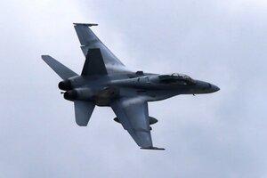 Americká stíhačka F/A-18 Hornet.