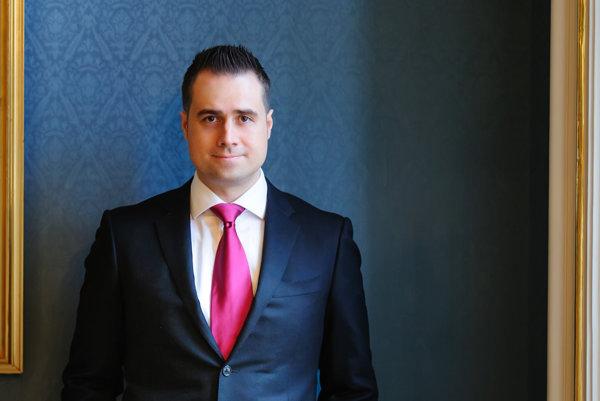 Marián Jančuška, riaditeľ spoločnosti 0011 vlastniacej prvý automat na bitcoiny v Bratislave.