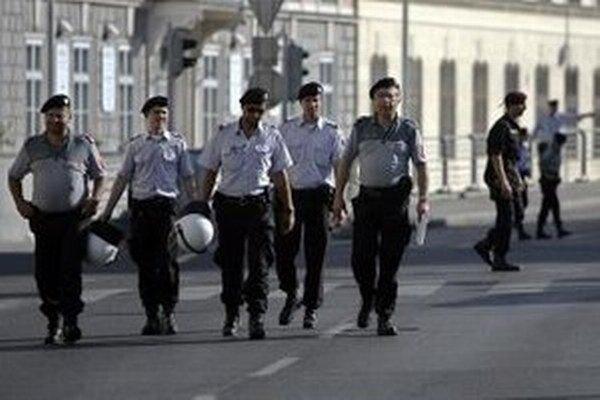 Rakúska polícia.