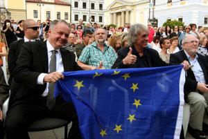 Na diskusii sa zúčastnil aj prezident Kiska.