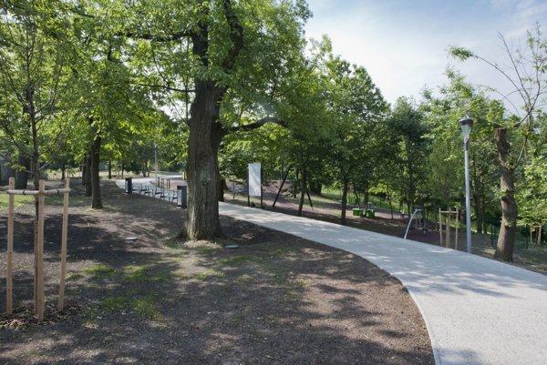 Revitalizovaný park Gaštanica.