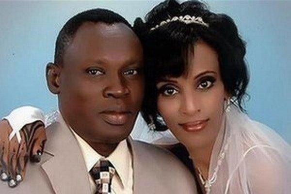 Sudánka Marjam Jahjá Ibráhímová s manželom.