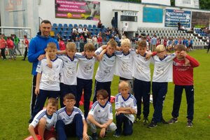Popradskí mládežníci si vPoľsku vychutnali výborný futbalový zážitok.