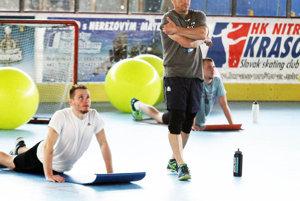 Daniel Štumpf sa pripravuje s Nitrou od začiatku prípravy.