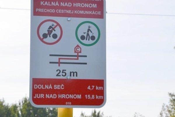 v Levickom okrese je viacero cyklotrás.