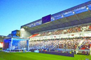 Minulý rok v City Arene koncertovala česká kapela Olympic.