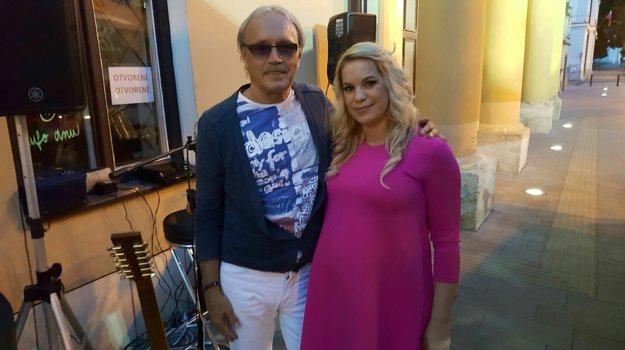 Majiteľka cukrárne a trnavský hudobník Pavel Opatovský.