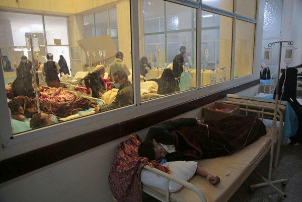 V Jemene sa šíri cholera.