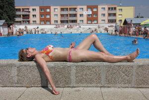Kúpalisko Castiglione v Trnave.