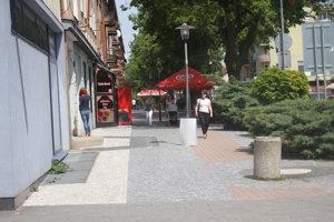 Na Hlavnej ulici vznikne mäkká pešia zóna.