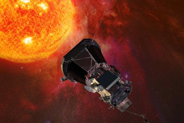 Družica Parker Solar Probe sa približuje k Slnku.