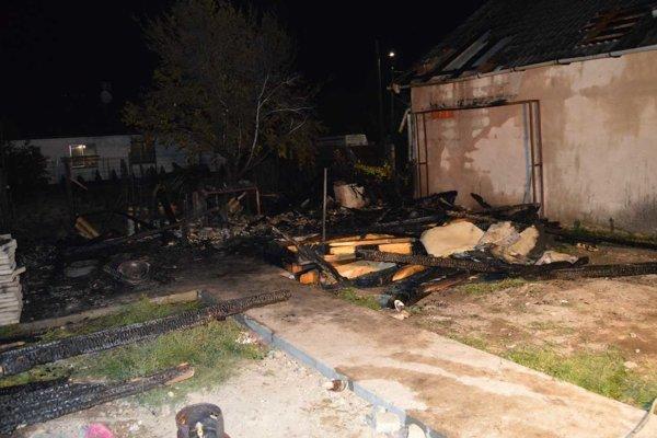 Požiar spôsobil škody za asi osemtisíc eur.