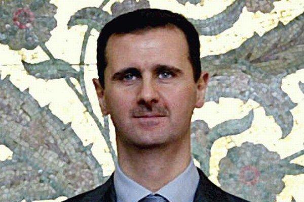 Sýrsky prezident Bašar Asad.