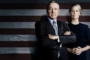 Kevin Spacey a Robin Wright.