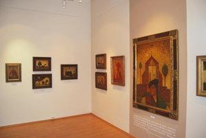 V galérii je vyše 400 obrazov a vyše 600 kresieb Bazovského.