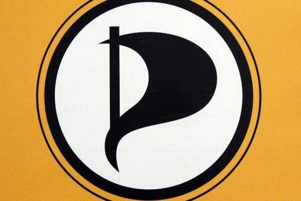 Logo pirátskej strany.