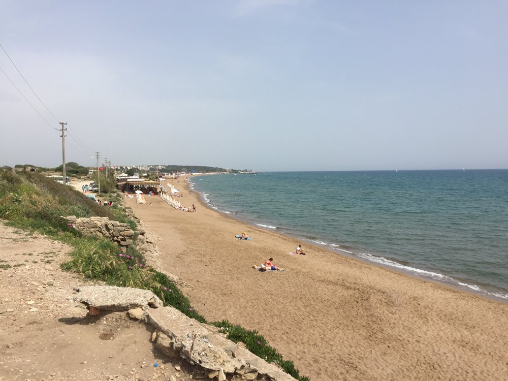 Pláž v Side